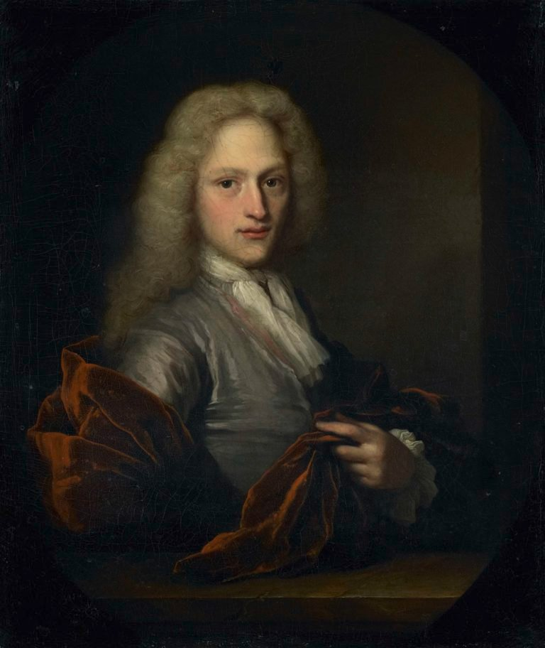 Portrait of a man.. 1690 - 1729 | Arnold Boonen | oil painting