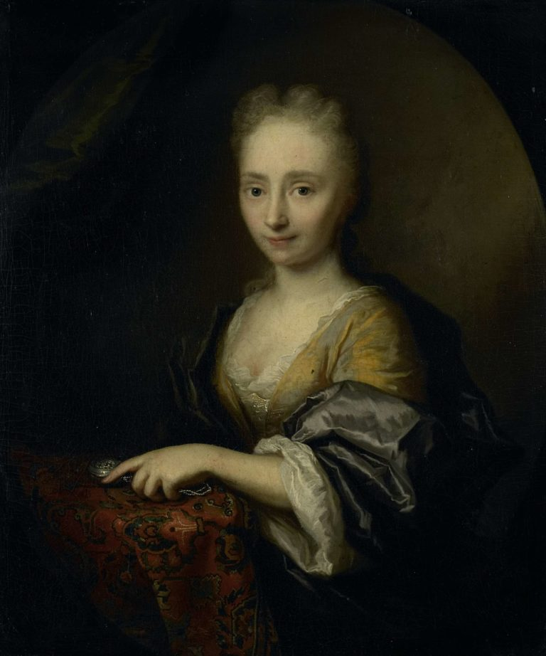 Portrait of a woman.. 1690 - 1729 | Arnold Boonen | oil painting