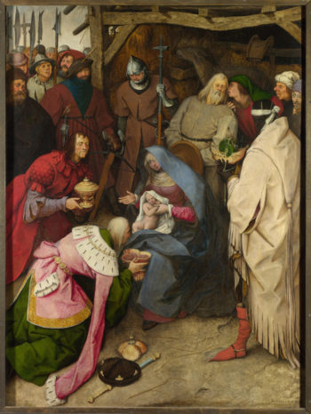 The Adoration of the Kings | Pieter Bruegel the Elder | oil painting