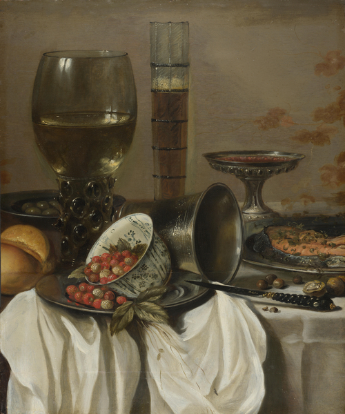 Still Life with Drinking Vessels | Pieter Claesz. | oil painting