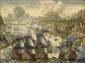 Battle in the Bay of Vigo