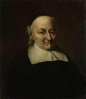 Joost van den Vondel (1587-1679). Poet. 1674 | Philips Koninck | oil painting