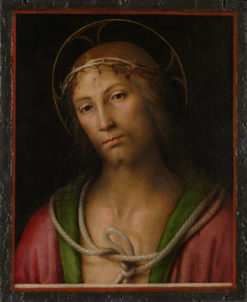 Christ Crowned with Thorns | Pietro Perugino | oil painting