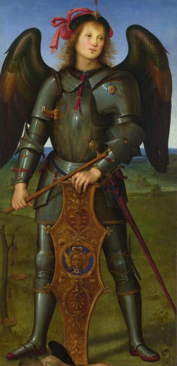 The Archangel Michael | Pietro Perugino | oil painting