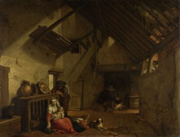 Rest on the Flight into Egypt.. 1632   Abraham Bloemaert   oil painting