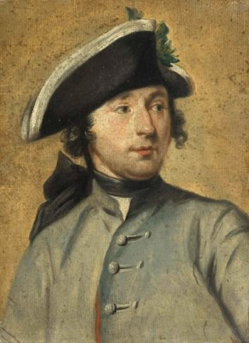 Ludolf Bakhuysen II (1717-82). Painter and soldier