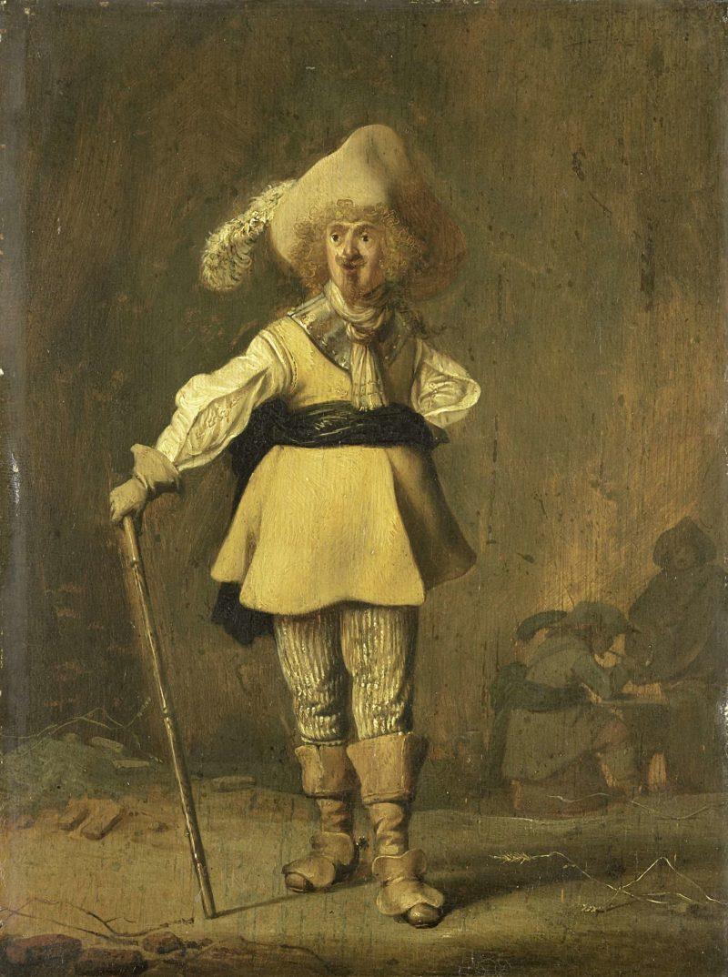 A captain. ca. 1622 - ca. 1639 | Willem Bartsius | oil painting