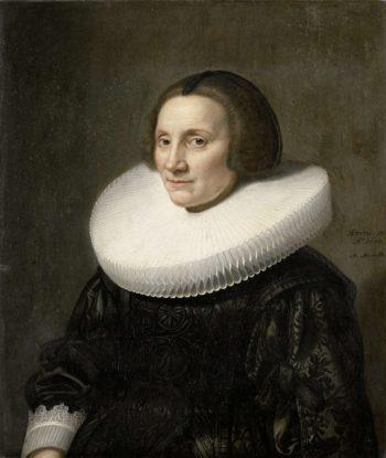 Portrait of Caecilia of Beresteyn (1589-1661). 1640 | Michiel Jansz. van Mierevelt | oil painting