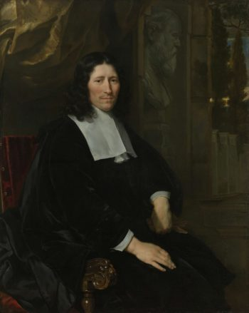 Portrait of Pieter de la Court. 1667 | Abraham van den Tempel | oil painting