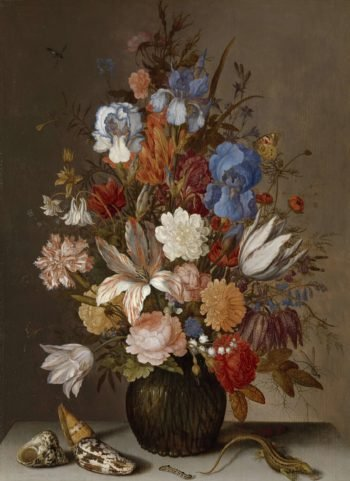 Still Life with Flowers. ca. 1625 - ca. 1630 | Balthasar van der Ast | oil painting