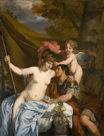 Odysseus and Calypso. ca. 1680 | Gerard de Lairesse | oil painting