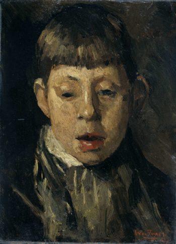 Young Head. ca. 1880 - ca. 1890 | Willem de Zwart | oil painting
