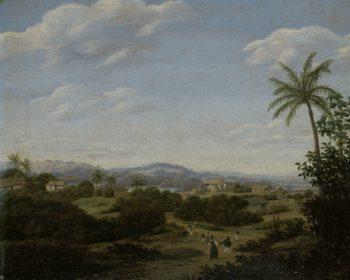 Brazilian Landscape. 1670 - 1680 | Frans Jansz. Post | oil painting