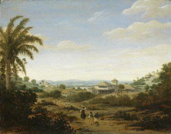 Landscape on the Rio Senhor de Engenho