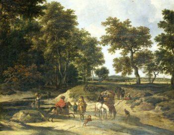 The benefits. 1650 - 1682 | Jacob Isaacksz. van Ruisdael | oil painting