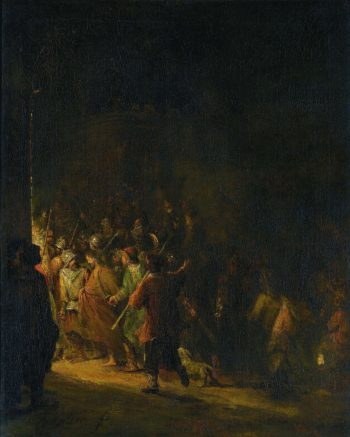 The capture of Christ. 1710 - 1727 | Aert de Gelder | oil painting
