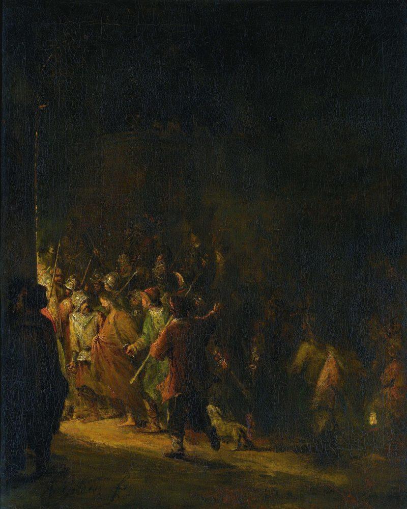 The capture of Christ. 1710 - 1727 | Aert de Gelder | oil painting