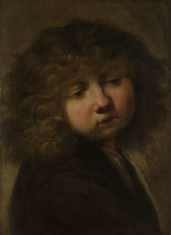 Boys Cup. after 1643 | Rembrandt Harmensz. van Rijn | oil painting