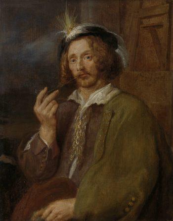 Self Portrait. 1630 - 1650 | Jan Davidsz. de Heem | oil painting
