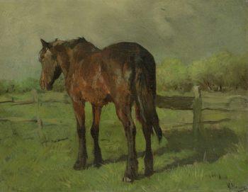 Horse. 1860 - 1888 | Anton Mauve | oil painting