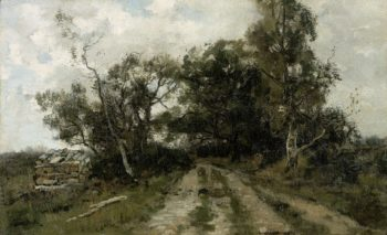 Zandweg. 1870 - 1904 | Th?ophile de Bock | oil painting