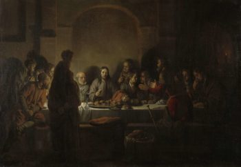 The Last Supper. 1664 | Gerbrand van den Eeckhout | oil painting