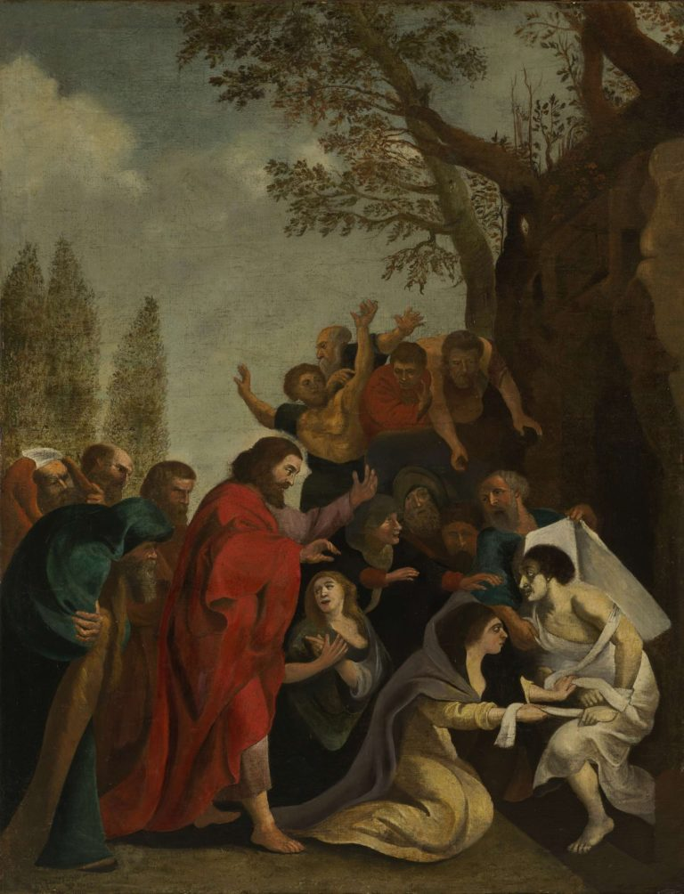 The Raising of Lazarus. 1600 - 1800 | Peter Paul Rubens | oil painting
