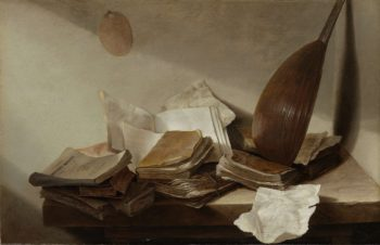Still Life with Books. 1625 - 1630 | Jan Davidsz. de Heem | oil painting
