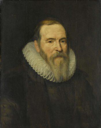 Portrait of Johan van Barneveld (1547-1619). in or after c. 1616 | Michiel Jansz. van Mierevelt | oil painting