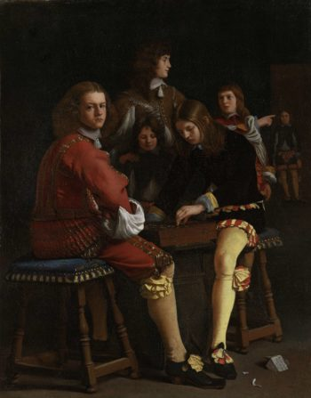 Draughts Players. 1652 | Michael Sweerts | oil painting