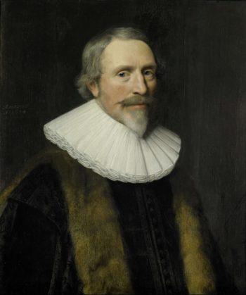 Portrait of Jacob Cats (1577-1660). 1634 | Michiel Jansz. van Mierevelt | oil painting