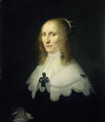Portrait of Cornelia Tedingh of Berck Wood (1614-80). 1648 | Michiel Jansz. van Mierevelt | oil painting