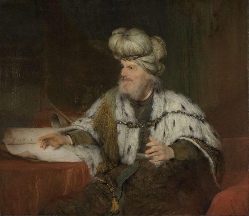 King David. 1680 - 1685 | Aert de Gelder | oil painting