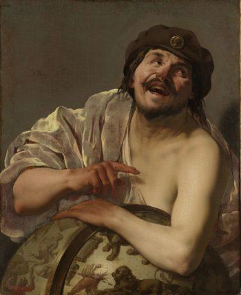 Democritus. 1628 | Hendrick ter Brugghen | oil painting