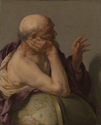 Heraclitus. 1628 | Hendrick ter Brugghen | oil painting