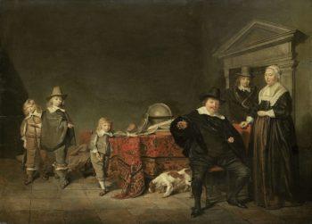 Family Group. 1642 | Pieter Codde | oil painting