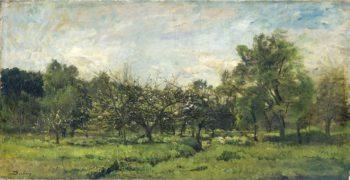 Orchard. 1865 - 1869 | Charles Fran?ois Daubigny | oil painting