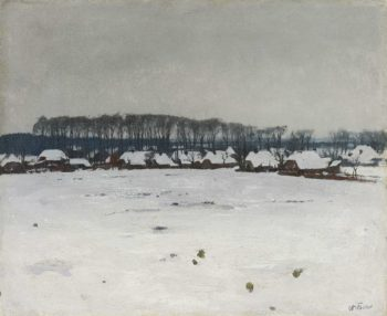 Winter Landscape. ca. 1885 - ca. 1922 | Willem Witsen | oil painting