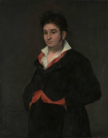 Portrait of Don Ram?n Satu?. 1823 | Francisco Jos? de Goya y Lucientes | oil painting