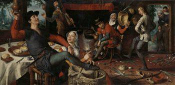 The Egg Dance. 1552 | Pieter Aertsen | oil painting