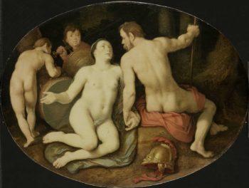 Venus and Mars. 1628 | Cornelis Cornelisz. van Haarlem | oil painting