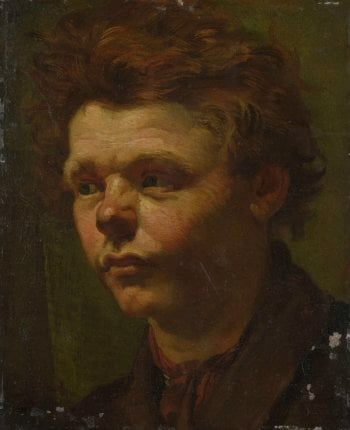 Portrait Study. 1856 | Matthijs Maris | oil painting