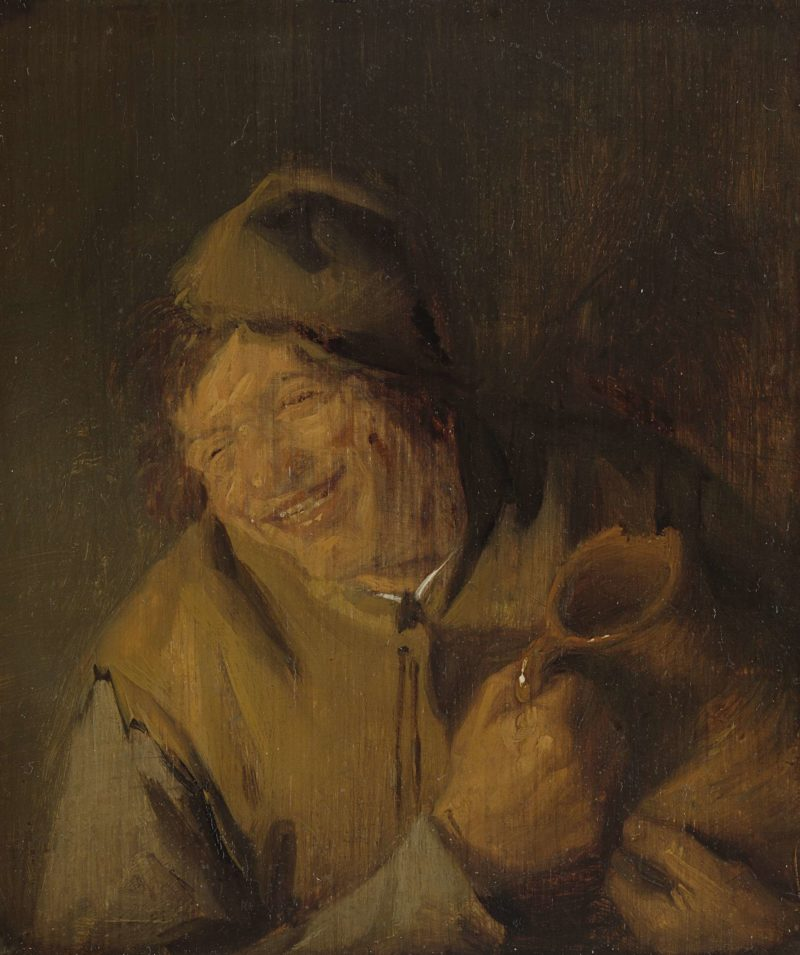 The cheerful farmer. 1630 - 1650 | Adriaen van Ostade | oil painting