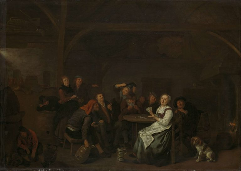 The fake card games. 1640 - 1668 | Jan Miense Molenaer | oil painting