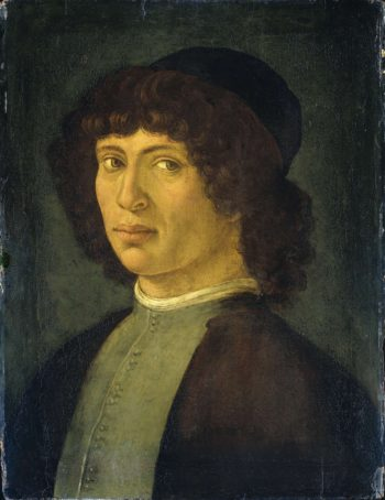 Portrait of a young man. 1750 - 1850 | Filippino Lippi | oil painting