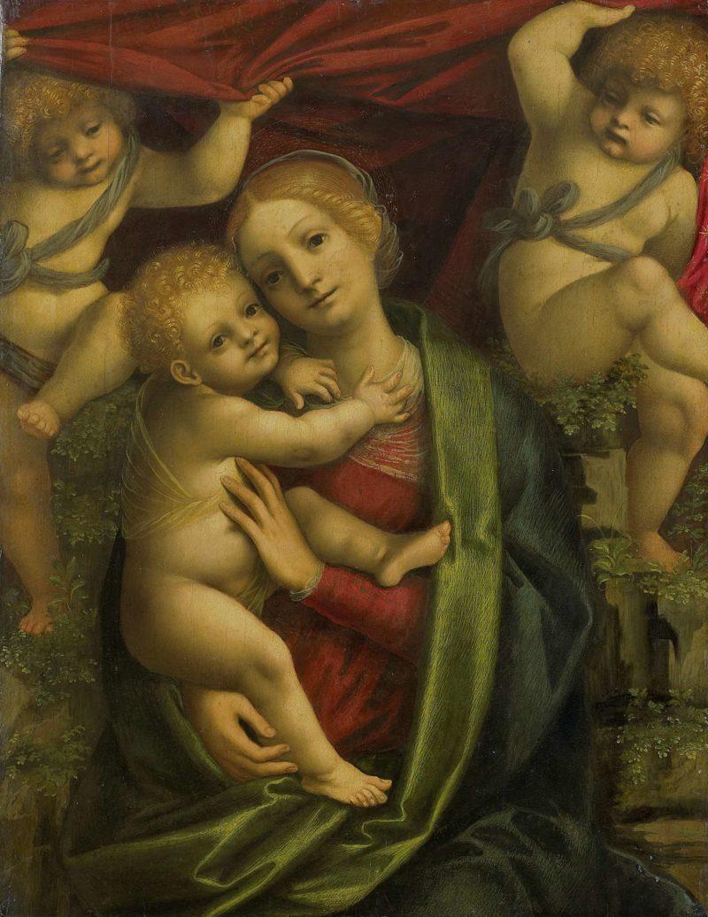 Virgin and Child. 1525 - 1535 | Gaudenzio Ferrari | oil painting