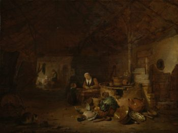 A farmer Part. 1646 | Egbert Lievensz. van der Poel | oil painting