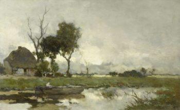 Autumn Landscape. ca. 1875 - ca. 1903 | Johan Hendrik Weissenbruch | oil painting