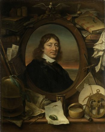 Gerard Pietersz Hulft (1621-56). First Council and Director-General of the VOC. 1654 | Govert Flinck | oil painting