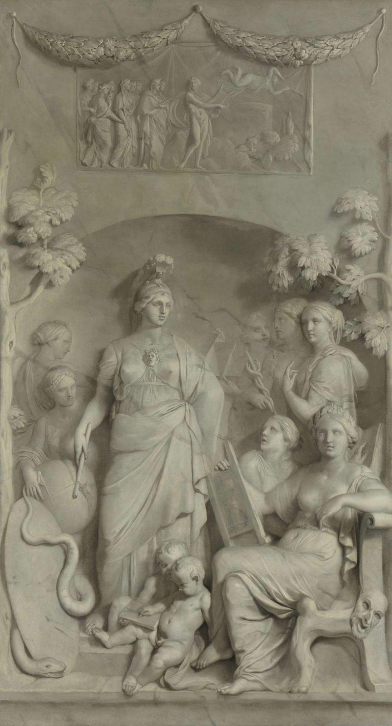 Allegory of the Sciences. ca. 1675 - ca. 1683   Gerard de Lairesse   oil painting